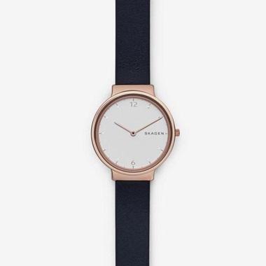 スカーゲン Ancher Leather Watch SKW2608