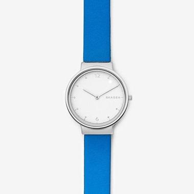 スカーゲン Ancher Leather Watch SKW2610