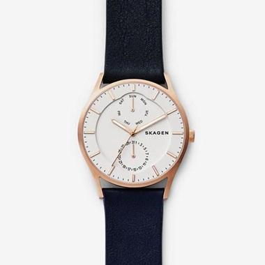 スカーゲン Holst Leather Multifunction Watch SKW6372