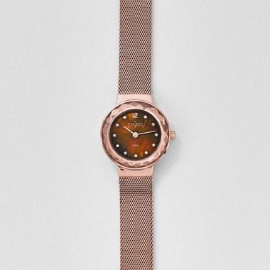 スカーゲン-Leonora Steel Mesh Watch 456SRR1-画像1