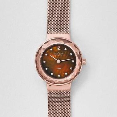 スカーゲン-Leonora Steel Mesh Watch 456SRR1 画像2