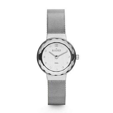 スカーゲン Leonora Steel Mesh Watch 456SSS