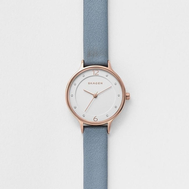 スカーゲン Anita Leather Watch SKW2497
