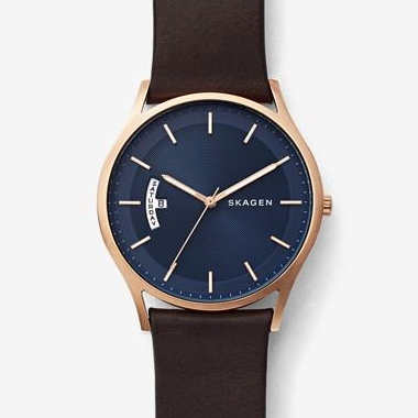 スカーゲン-Holst Leather Multifunction Watch SKW6395 画像2