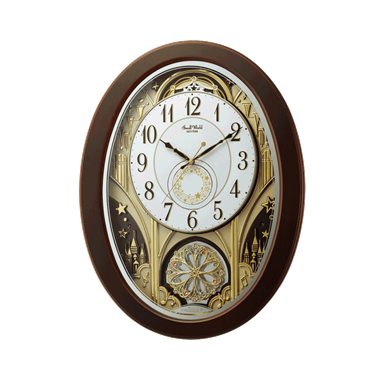 リズム時計 スモールワールドジューン 4MN526RH06