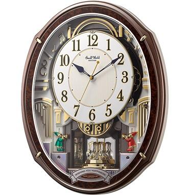 リズム時計 スモールワールドアルディ 4MN545RH23