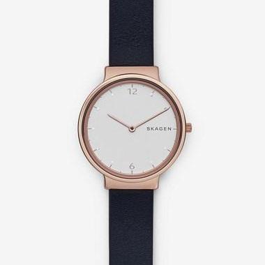 スカーゲン-Ancher Leather Watch SKW2608 画像1