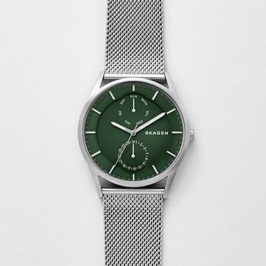 スカーゲン Holst Steel-Mesh Multifunction Watch SKW6383