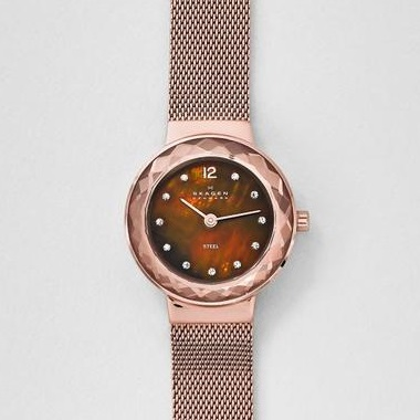 スカーゲン-Leonora Steel Mesh Watch 456SRR1 画像1