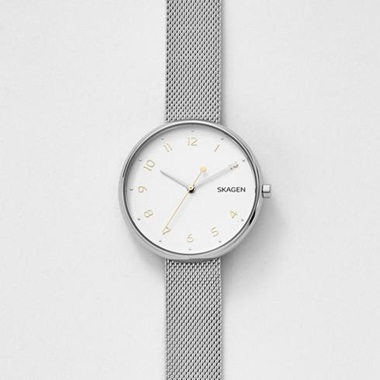 スカーゲン-Signatur Steel-Mesh Watch SKW2623-画像1