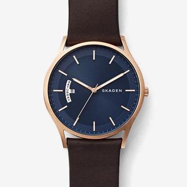 スカーゲン-Holst Leather Multifunction Watch SKW6395 画像1