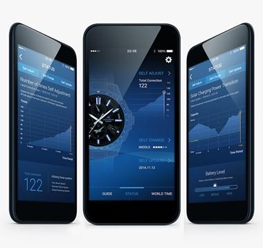 オシアナス-Bluetooth搭載GPS電波ソーラー<br />OCW-G2000-2AJF 画像2