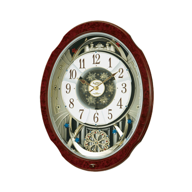 リズム時計-スモールワールドブルームDX 4MN499RH23-画像1