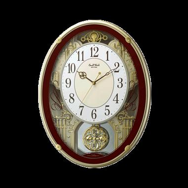 リズム時計 スモールワールドプラウド 4MN523RH06